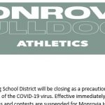 All Monrovia Athletic Events & Practices are Cancelled until Further Notice