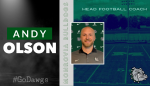 New Head Football Coach – Andy Olson
