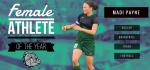 Congratulations to Madi Payne – Monrovia Female Athlete of the Year