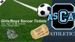 Girls & Boys Soccer @ Cascade (Tues. Sept. 1) – Online Tickets ONLY