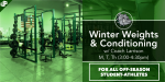 Winter Weights & Conditioning – M, T & Th