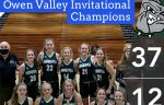 8th Grade Girls Basketball Wins the Owen Valley Invitational