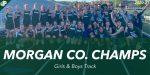 Middle School Girls & Boys Track Win the Morgan Co. Meet!