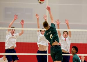 Wauwatosa West Boys Varsity Volleyball