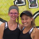Congratulations Connie Terlizzi & Alyssa Piek! State Bound in Tennis
