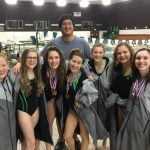 Wauwatosa West High School Girls Varsity Swimming finishes 5th place