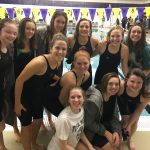 Wauwatosa West High School Girls Varsity Swimming beat New Berlin West High School 201-184