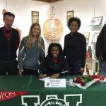 Athlete Signing — Davis