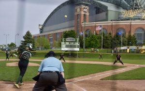 Softball West vs East at Helfaer Field 5/17/17