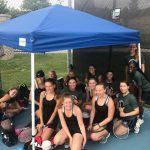 Girls Tennis JV Quad