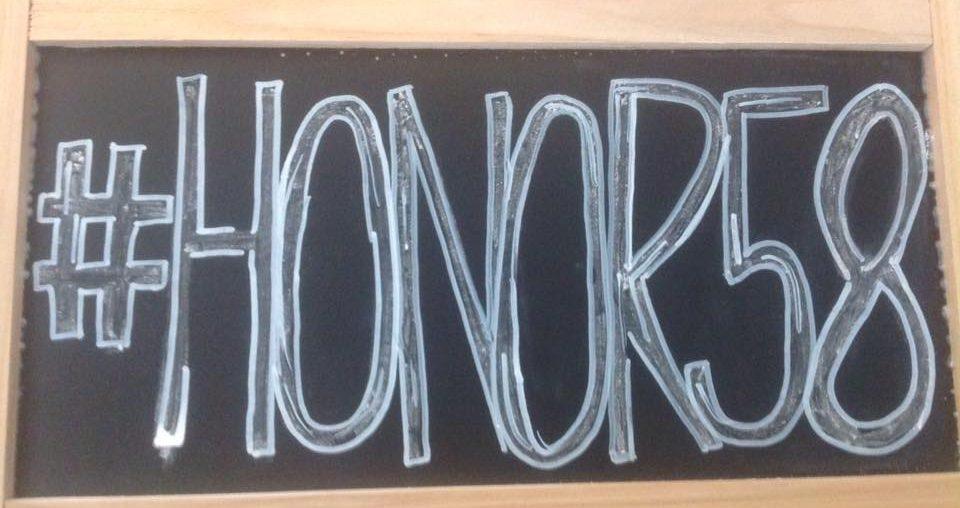 #Honor58 donates Basketballs in honor of Steve Berger