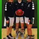 Girls Basketball Team Celebrates their Seniors!