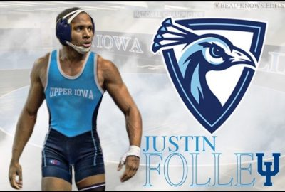 Alum Justin Folley signs with Upper Iowa University
