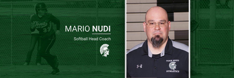 Congratulations to Mario Nudi – New Head Coach Softball