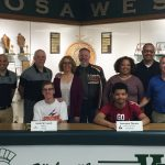 Athlete Signings – J. Lueck & L. Thomas