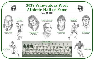 2018 Athletic Hall of Fame Photos