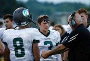 Varsity Football vs Brookfield East 8/17/18 Courtesy of Gregg Fuhrman