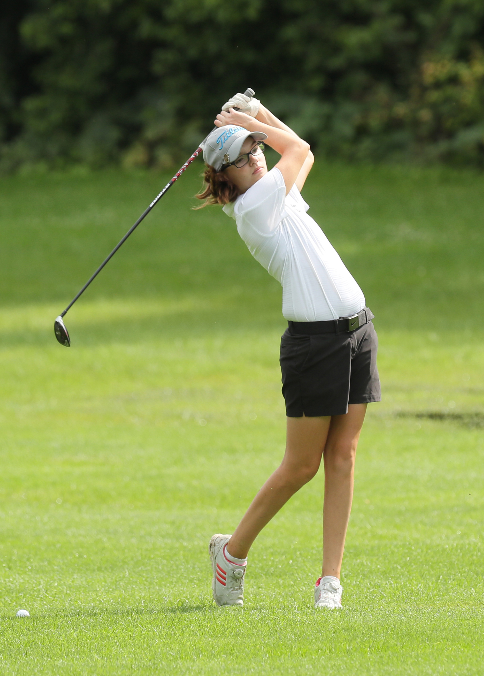 Congrats to Rachel Kauflin — 3rd at State in Girls Golf Division 1