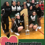 Cheeleaders took 1st Place at the iCheer Competition on 2/26/19 at Greendale High School