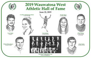 2019 Athletic Hall of Fame Photos