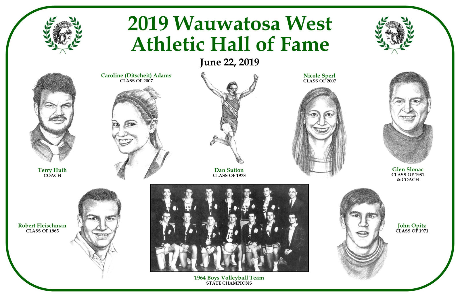 2019 Athletic Hall of Fame Ceremony