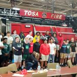 Football has Dinner with Some of Tosa's Finest on 9/12/19