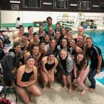 Girls Swim & Dive Celebrates their Seniors on 10/17/19