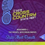 2019 CROSS COUNTRY STATE MEET RESULTS