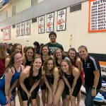 Girls Swimming & Diving Team finish Sectionals 18 PRs or SB