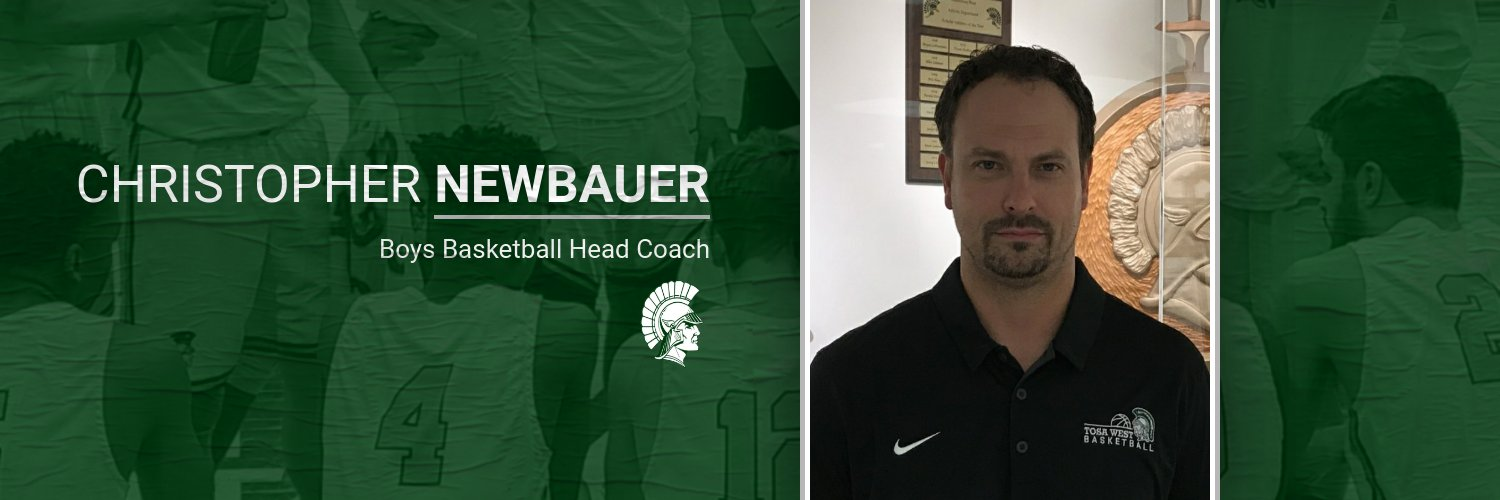 Congratulations to Christopher Newbauer – New Head Coach Boys Basketball