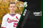 SENIOR SPOTLIGHT – Oliver Potrzebowski, Baseball