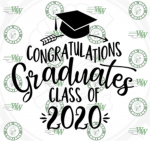 Congratulations to the Class 2020 from the Athletic Department!