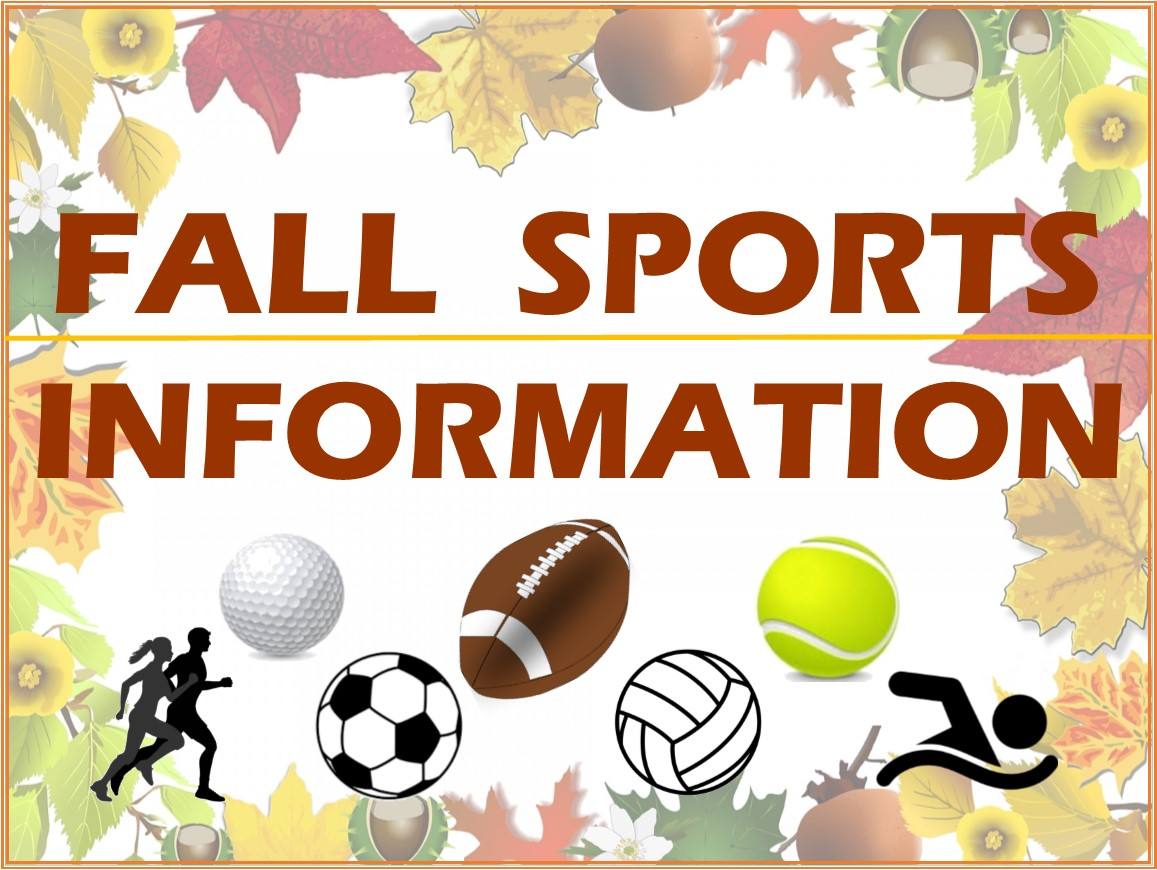 2020 Fall Sports Athletic Registration Info