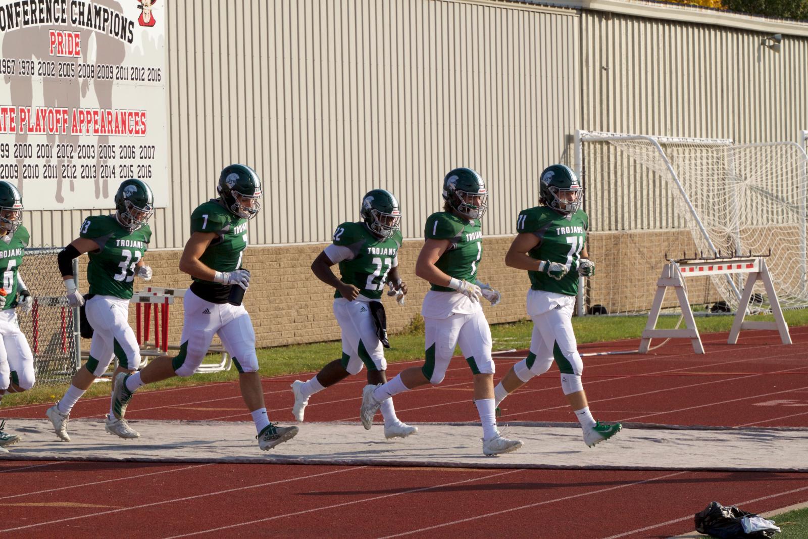 Varsity Football vs Pewaukee – 10/9/20 – Photos courtesy of Dan Keenan
