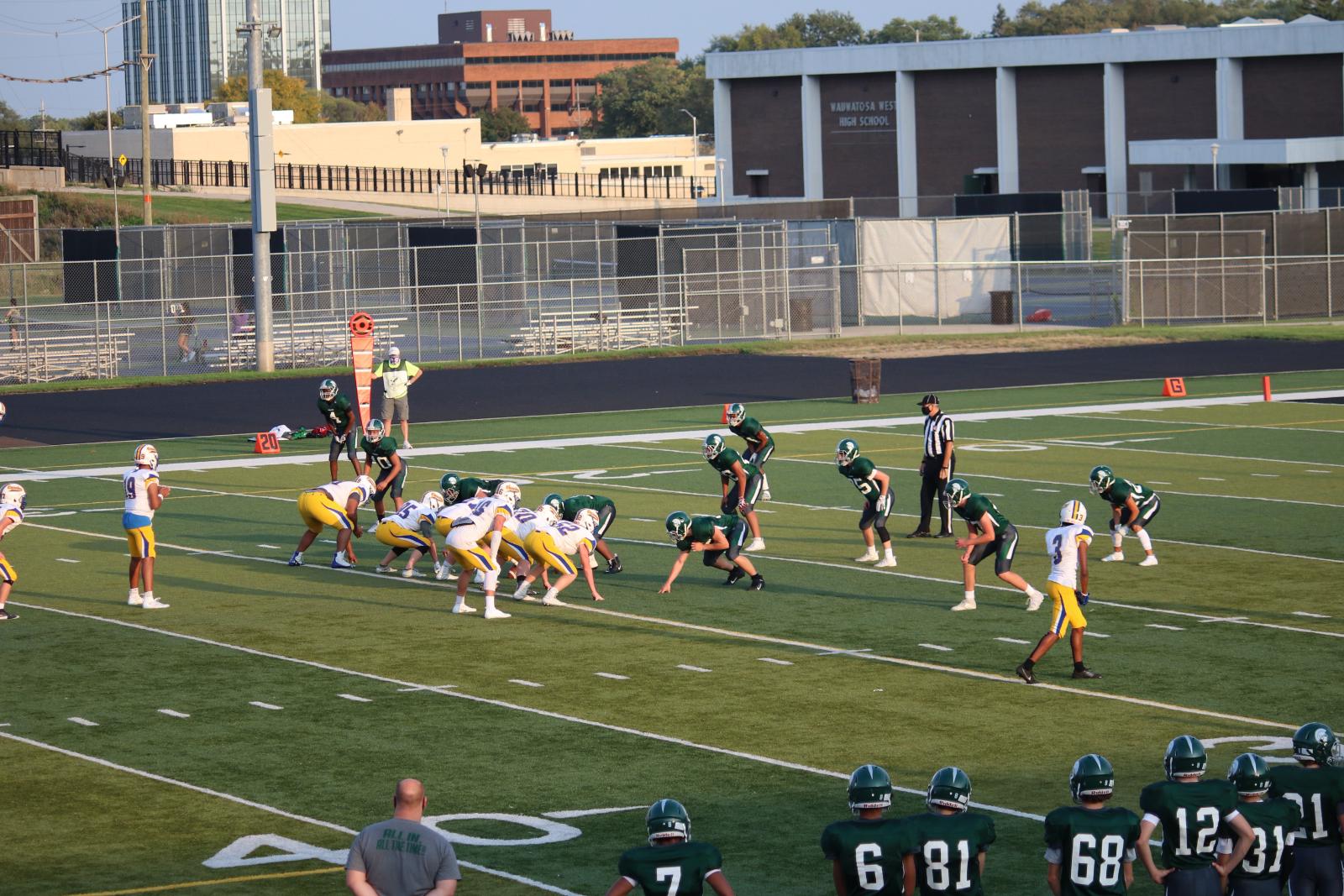 JV Football vs Catholic Memorial – 9/24/20 – Photos courtesy of Cindy Lakatos