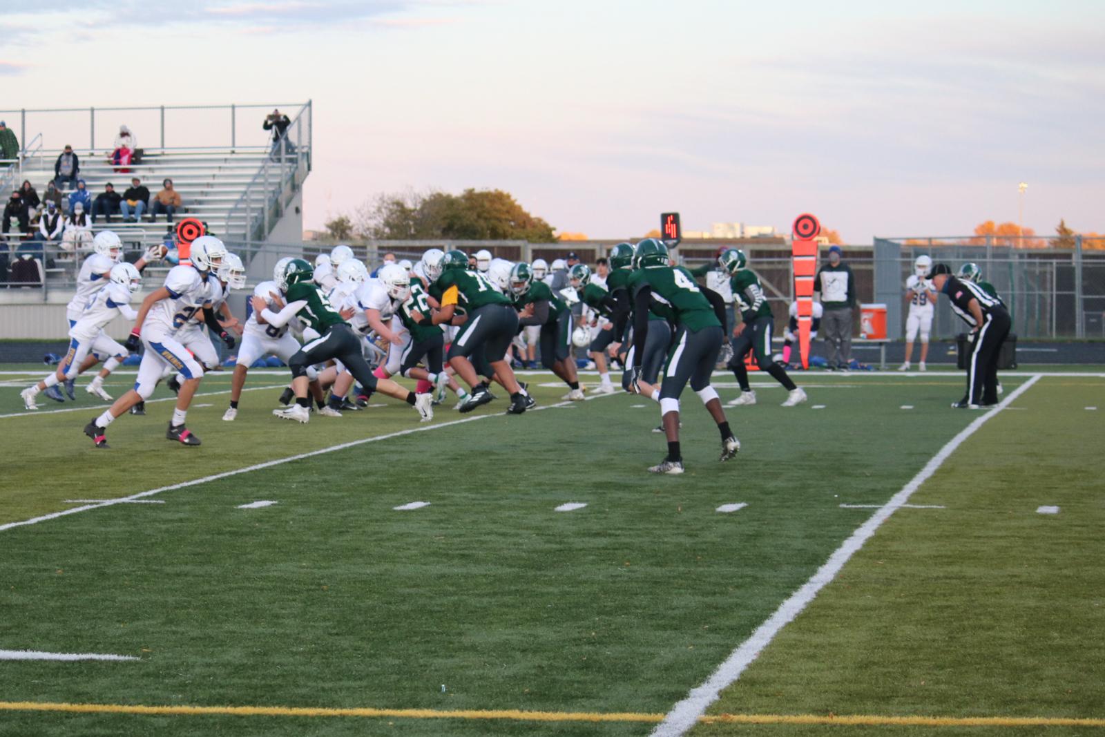 JV Football vs NB West – 10/15/20 – Photos courtesy of Cindy Lakatos