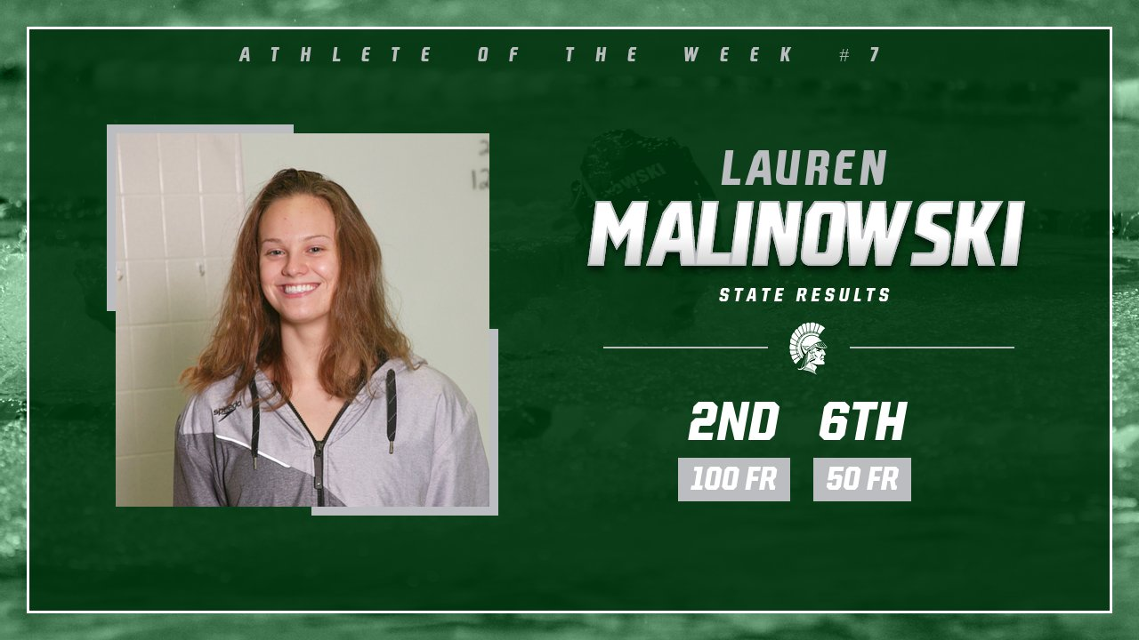Athlete of the Week #7 – L. Malinowski