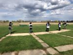 Wauwatosa East/West Trap team vs Racine Lutheran Trap Team 4-18-2021