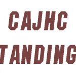 CAJHC Standings after WEEK 1