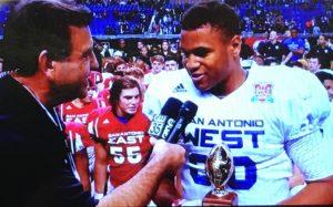 Christian Mallard Named Impact Player For San Antonio All-Star football Game