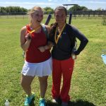 Taft Tennis Medals at East Central