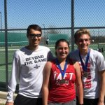 Pena, Freeze Win Mixed Doubles