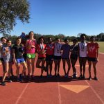 Girls Track Dominates at Southwest Meet