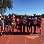 Girls Track Dominates at Southwest Meet