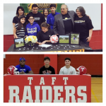 Four Raiders Signed Letters of Intent on National Signing Day 2/7/18