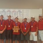 Boys Golf Wins District