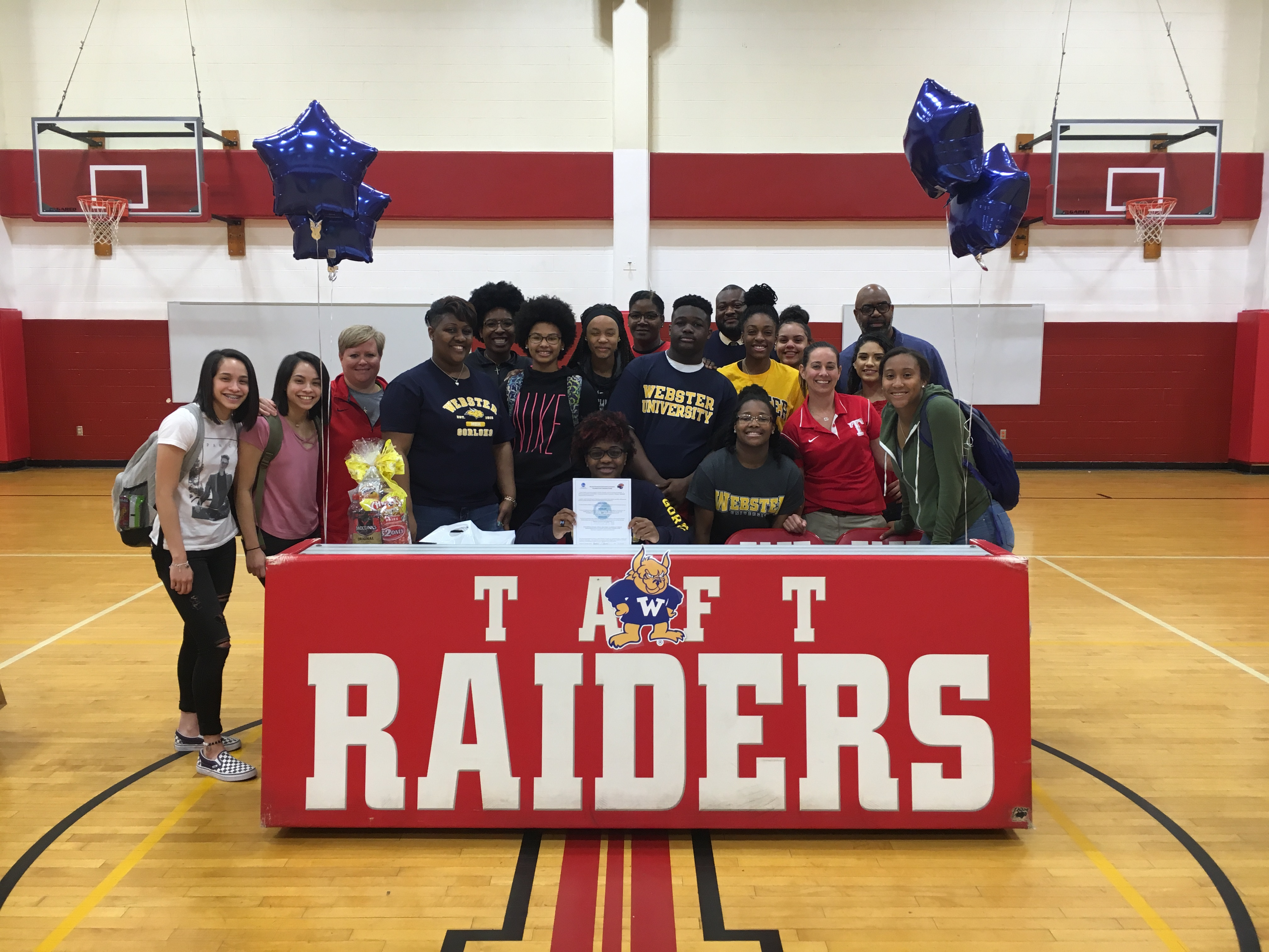 Johnson Signs With Webster