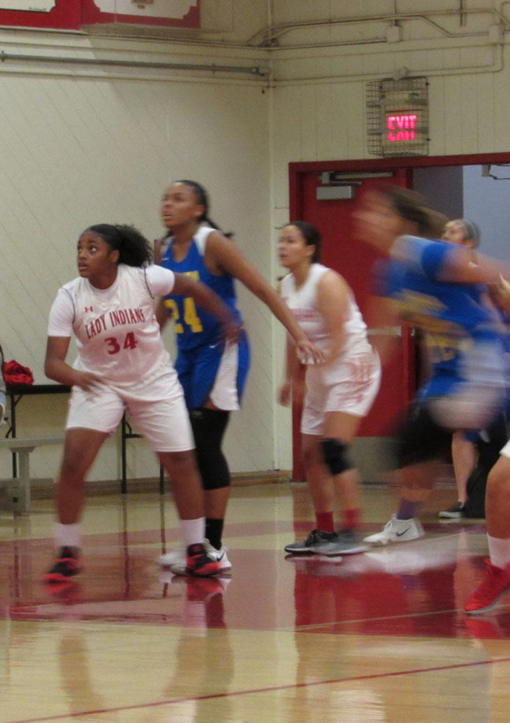 Girls Varsity Basketball falls to Bolsa Grande 42 – 35
