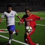 OC Varsity Article on Freeway League Opening Boys Soccer Game vs La Habra