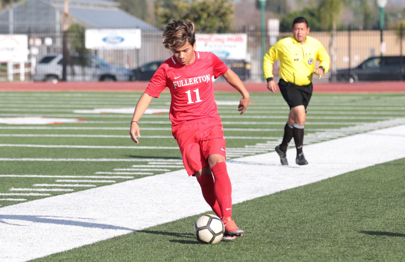 Boys Soccer falls to Anaheim 1 – 0